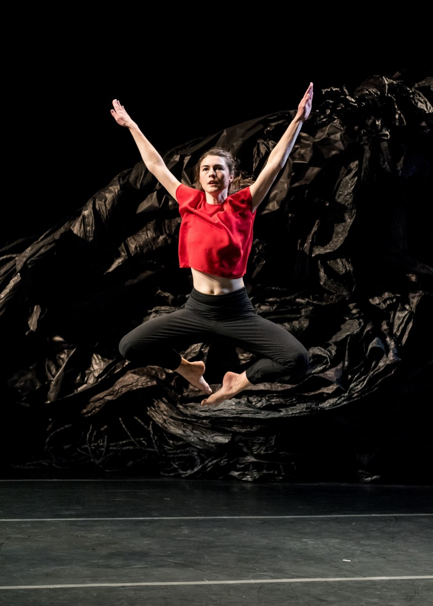 Ivy Baldwin Dance. Pictured: Anna Carapetyan. Photo: Ian Douglas.
