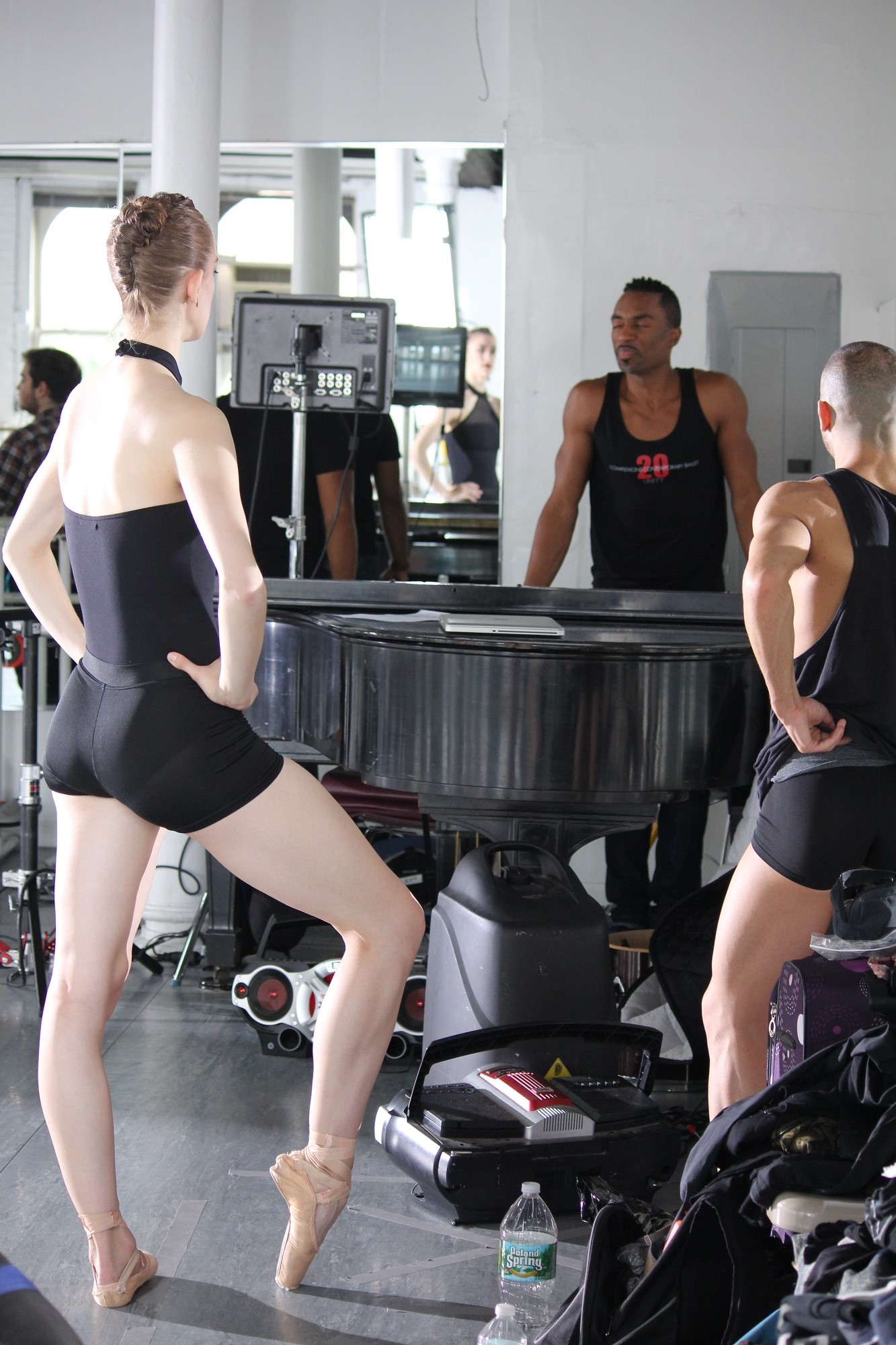 Desmond Richardson with dancers