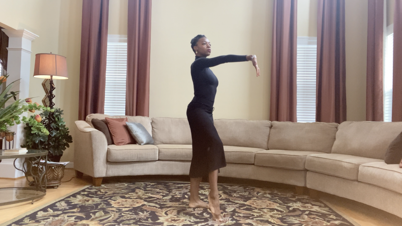 Leslie Andrea Williams in Martha Graham's Immediate Tragedy