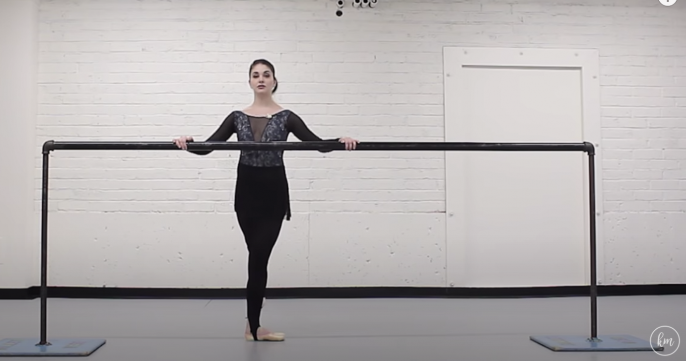 Kathryn Morgan teaches pointe at the barre