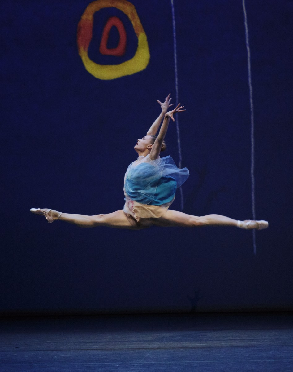 Sara Mearns in Alexei Ratmansky's Pictures at an Exhibition. Photo: Paul Kolnik.