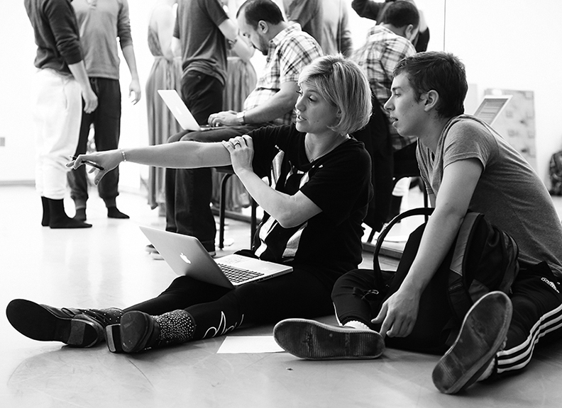 Stacey Tookey and her company Still Motion prepare for their NY debut
