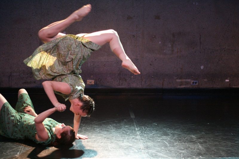 white road Dance Media's Evergreen at Abrons Art Center. Photo: Marisa Gruneberg.